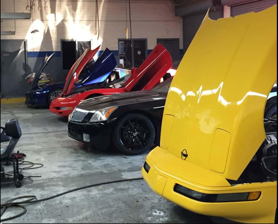 corvette and cadillac ac repair