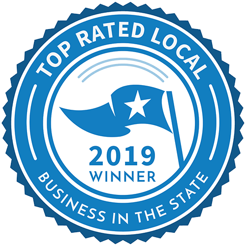 top rated local 2019 winner badge